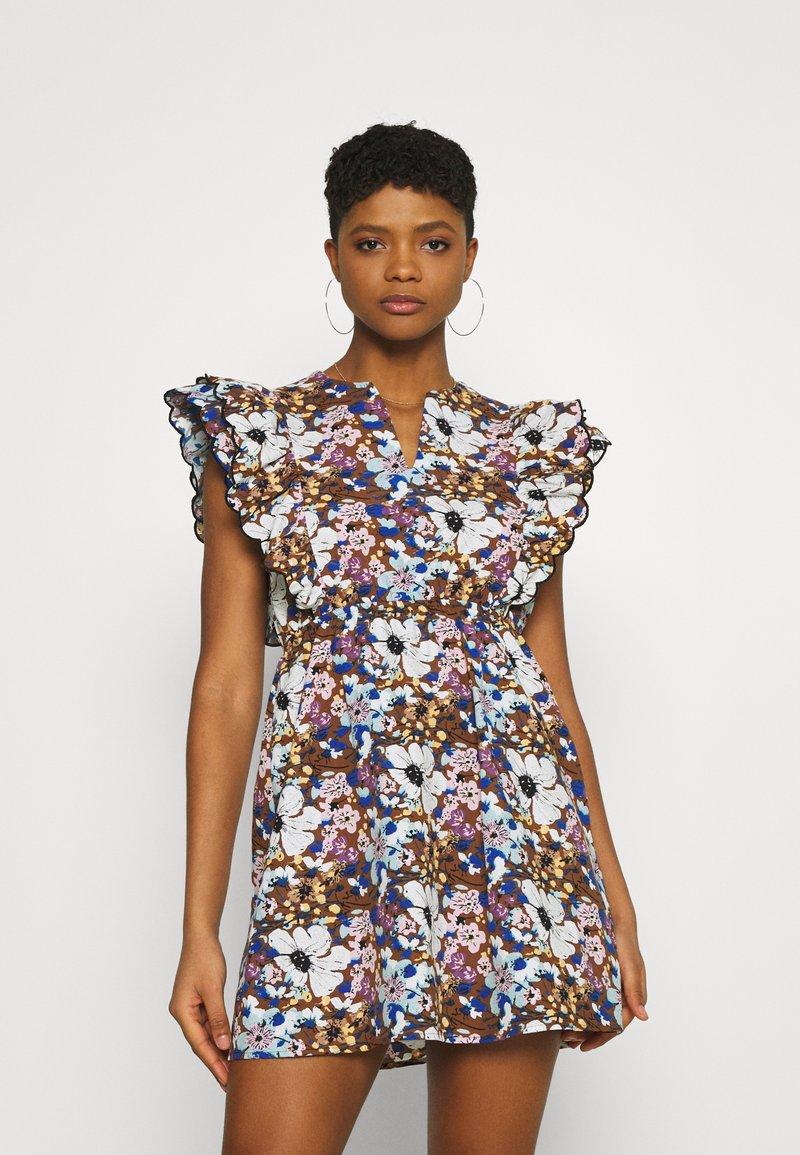 Trendyol - Day dress - brown