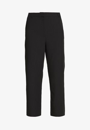 KENDRICK CROPPED PANTS - Trousers - black