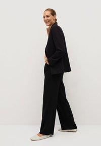 Mango - BETTY - Spodnie materiałowe - black - 3