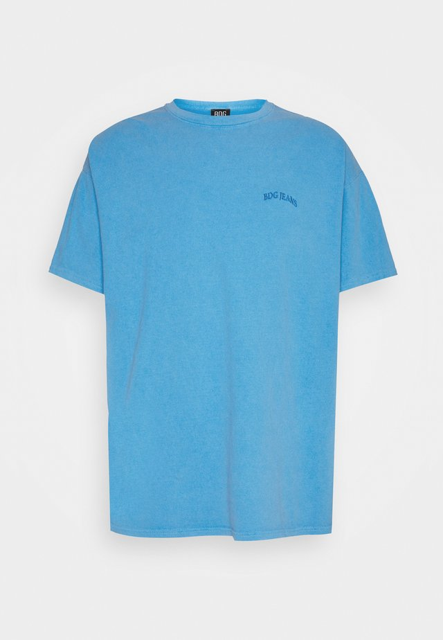 LOGO EMBROIDERED TEE UNISEX - T-shirts - blue