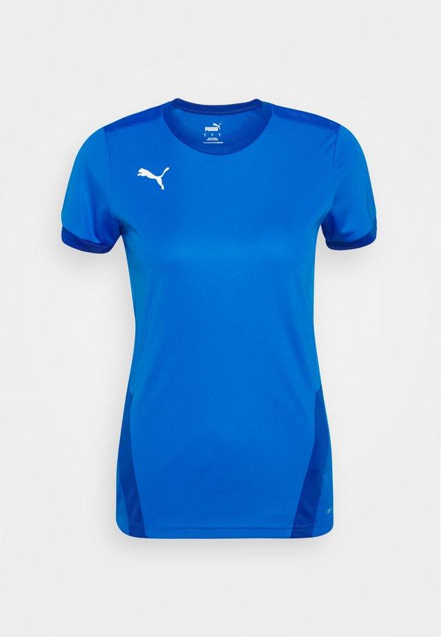 TEAM GOAL  - Print T-shirt - electric blue/team blue