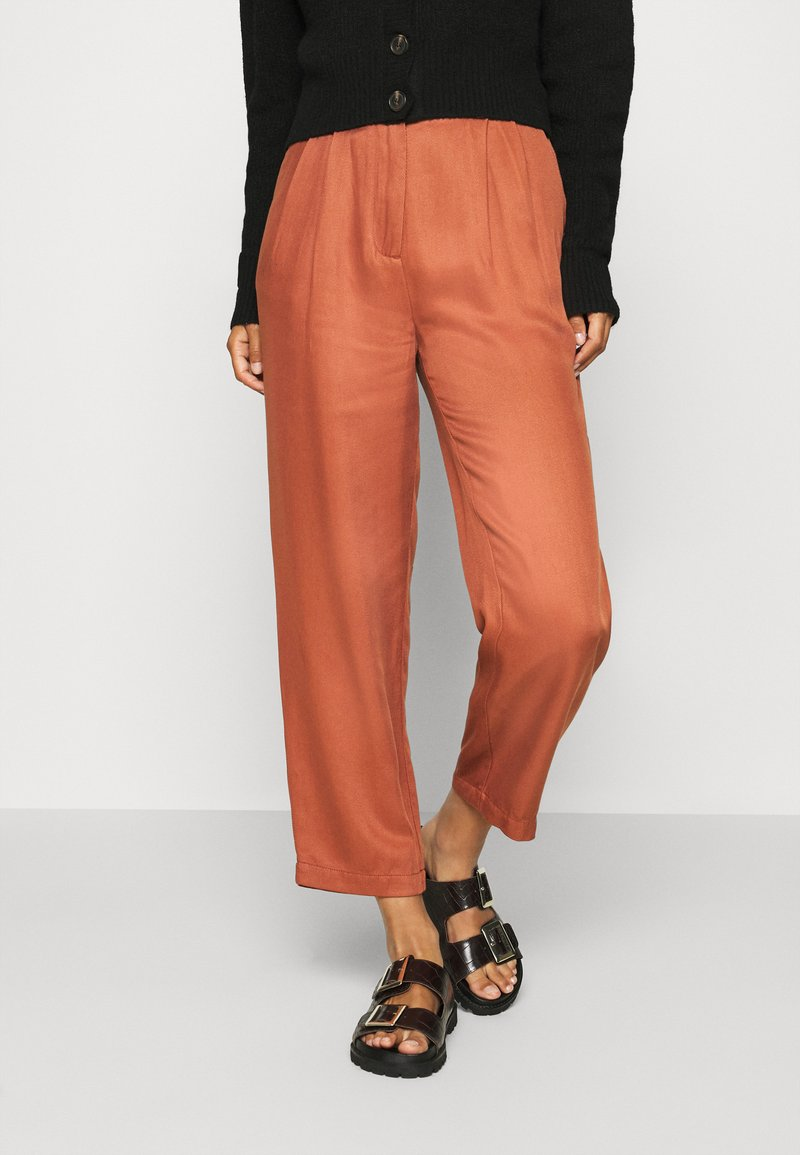 Marc O'Polo DENIM - PAPERBAG - Trousers - cinnamon brown