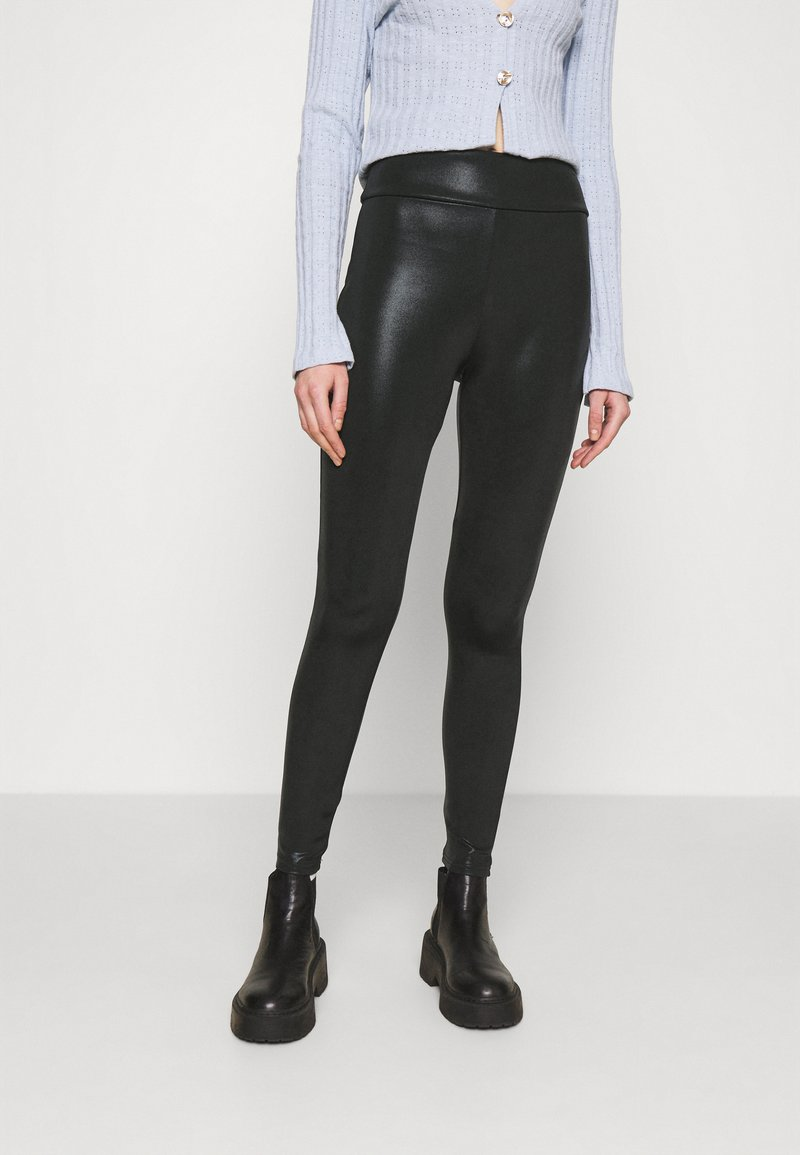 River Island - Leggings - Trousers - black