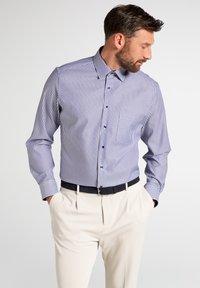 Eterna - FITTED WAIST - Formal shirt - dark blue - 0
