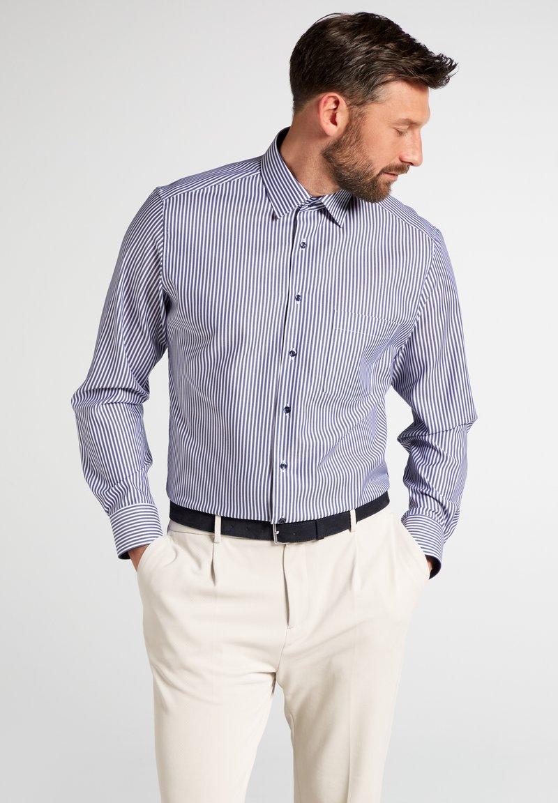 Eterna - FITTED WAIST - Formal shirt - dark blue