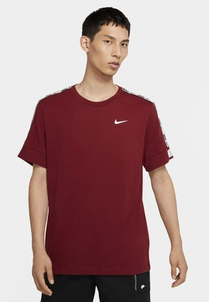 REPEAT TEE  - Print T-shirt - team red