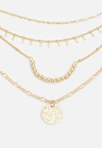Pieces - PCSANIA COMBI NECKLACE - Necklace - gold-coloured - 2