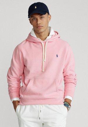 Bluza z kapturem - carmel pink