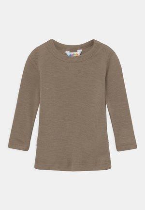 LONG SLEEVES UNISEX - Long sleeved top - light brown