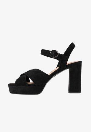 WOMS - High heeled sandals - black