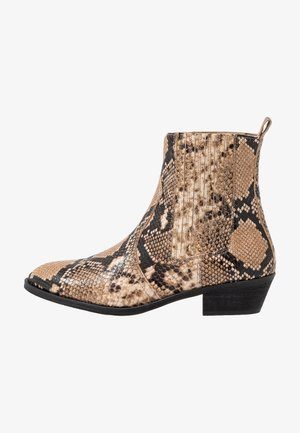 WIDE FIT  - Classic ankle boots - multicolor