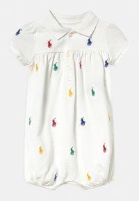 Polo Ralph Lauren - BUBBLE ONE PIECE SHORTALL - Jumpsuit - white - 0