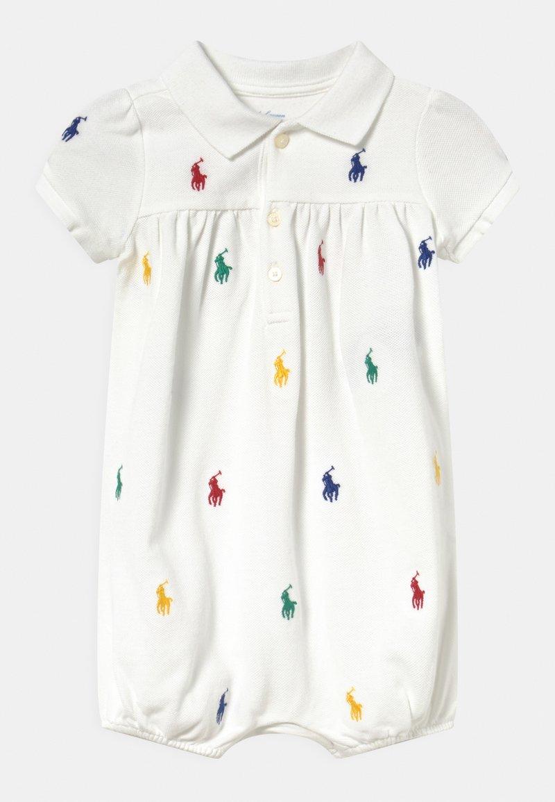 Polo Ralph Lauren - BUBBLE ONE PIECE SHORTALL - Jumpsuit - white