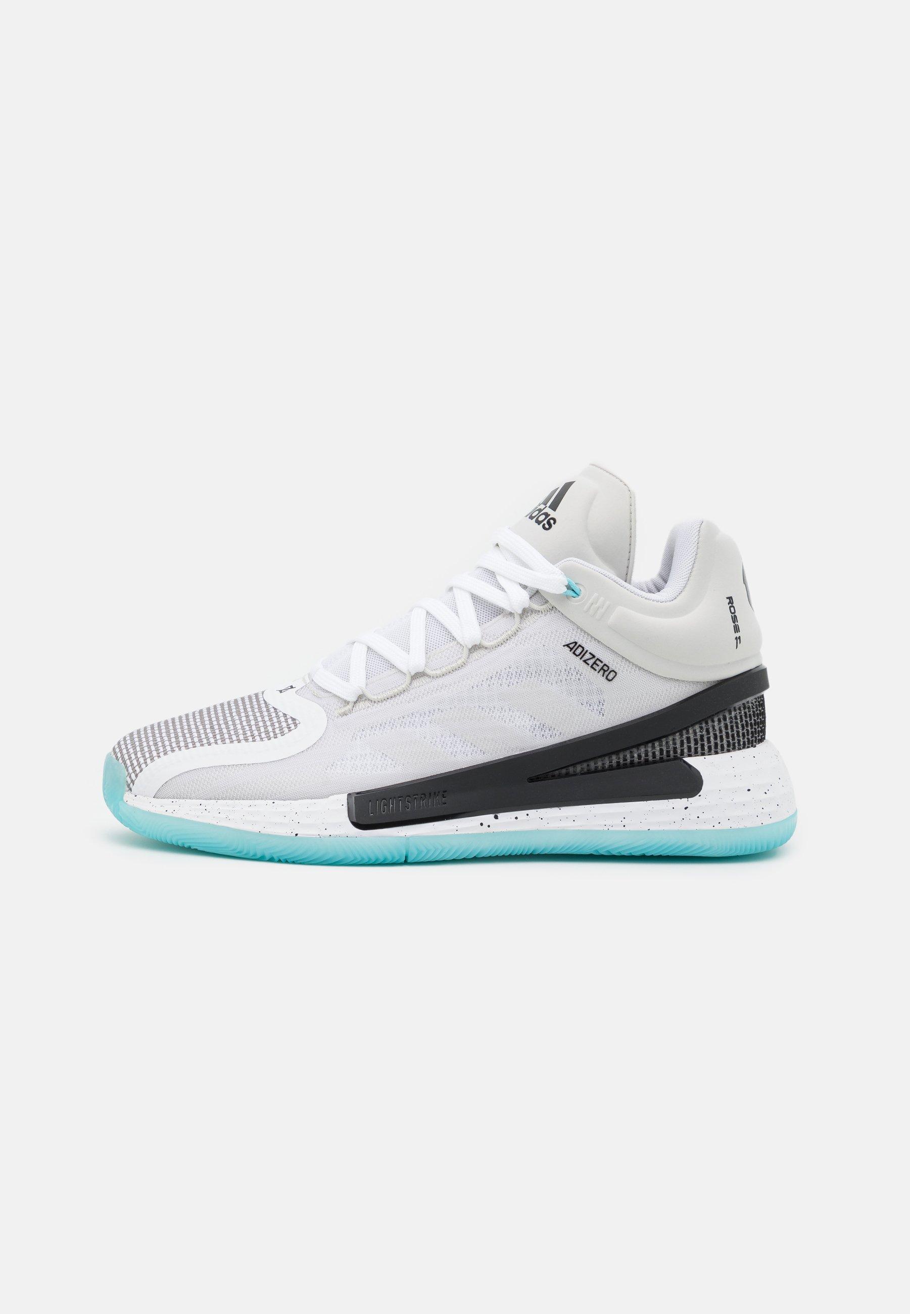 Herren ROSE 11 - Basketballschuh - footwear white/core black/orbit grey