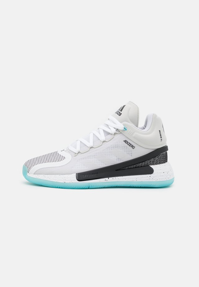 ROSE 11 - Scarpe da basket - footwear white/core black/orbit grey