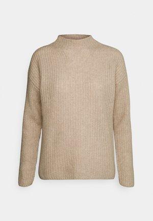 SANDRICKY - Stickad tröja - light beige