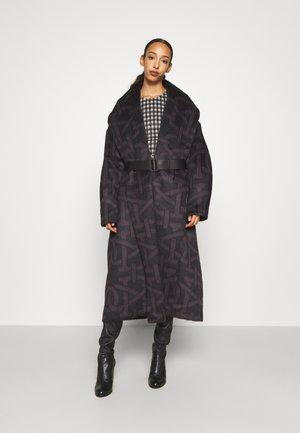 Classic coat - brown/black