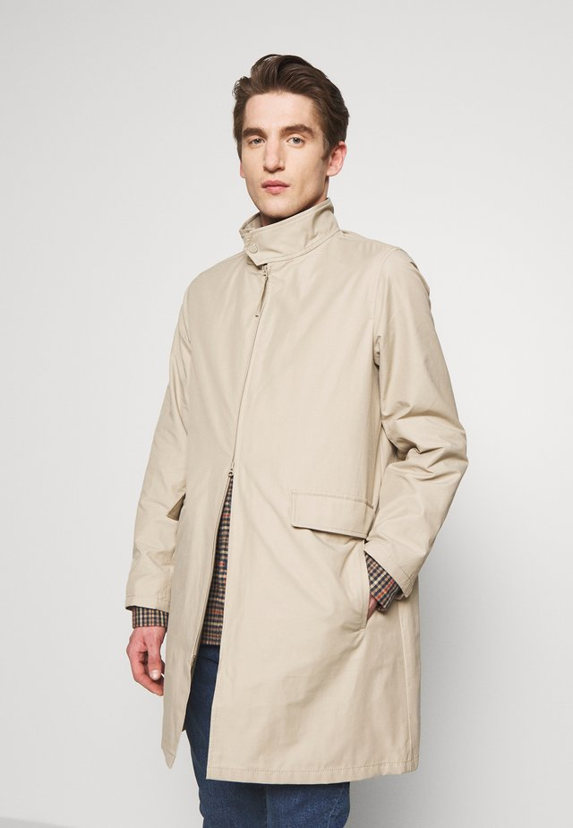 LIGHTWEIGHT - Short coat - cashew