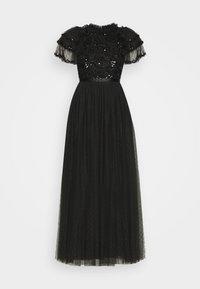 Needle & Thread - SHIRLEY RIBBON BODICE ANKLE DRESS - Společenské šaty - ballet black - 4