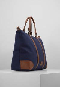 Pier One - UNISEX - Weekendbag - dark blue/cognac - 3