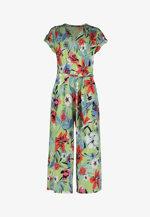 Jumpsuit - green/red