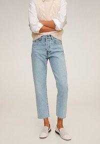 Mango - HAVANA - Jeans a sigaretta - bleu clair - 0