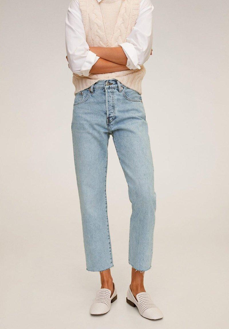 Mango - HAVANA - Jeans a sigaretta - bleu clair