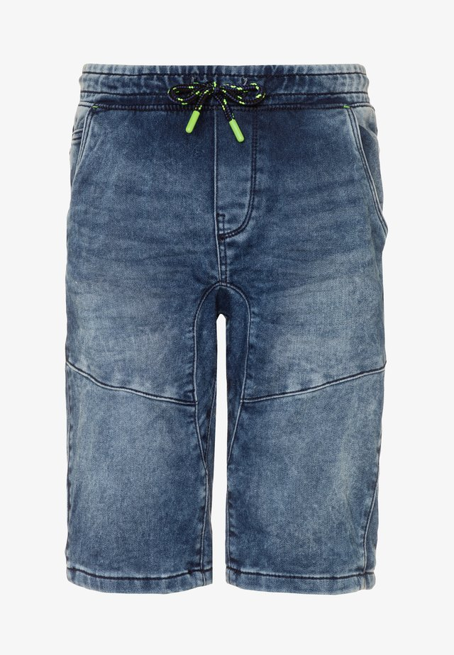 BERMUDA - Jeans Shorts - dark denim