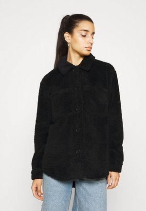 NMSUZZI JACKET - Pitkä takki - black