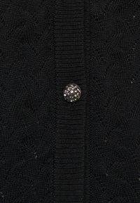 Bruuns Bazaar - ANEMONE MINNA CARDIGAN - Cardigan - black - 2