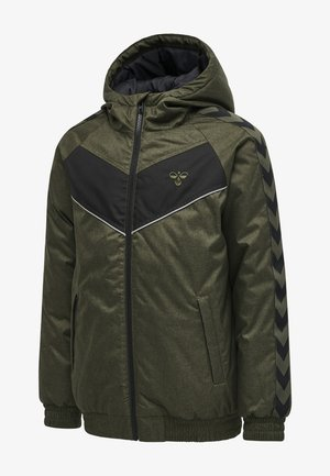 Winter jacket - olive night melange