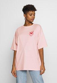 Even&Odd - T-shirt print - pink - 2