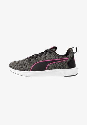 SOFTRIDE VITAL CLEAN - Scarpe running neutre - black/ultra gray/luminous pink
