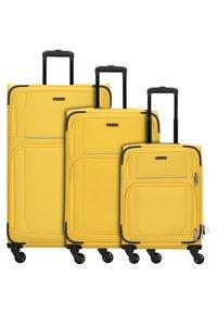 Travelite - 3  PACK - Luggage set - yellow - 1