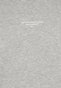 Good For Nothing - FITTED GREY MICRO TAPED BRANDED HOOD - Mikina - grey - 2