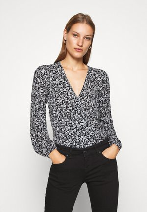 CHASE BLOUSE - Blusa - black