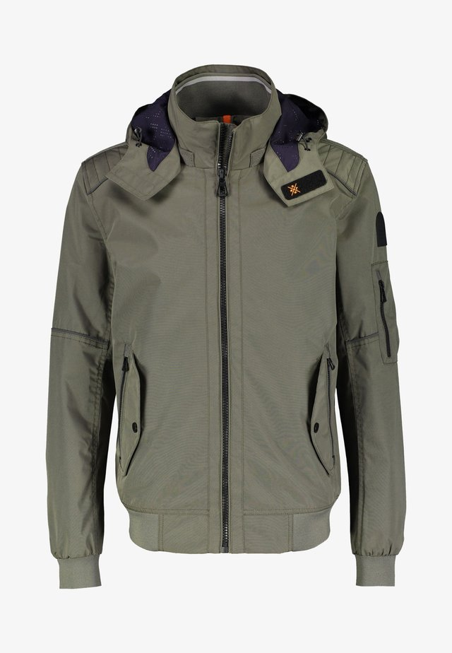 Windbreaker - mud grey