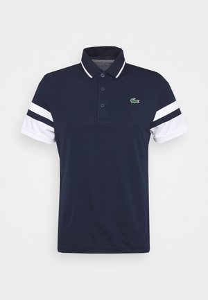 TENNIS - Sports shirt - navy blue/white