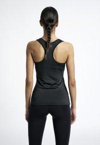 HALO - RACERBACK - Sportshirt - black - 2