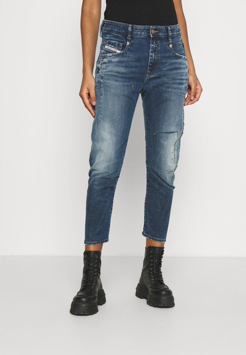 Diesel - D-FAYZA-NE - Relaxed fit jeans - medium blue