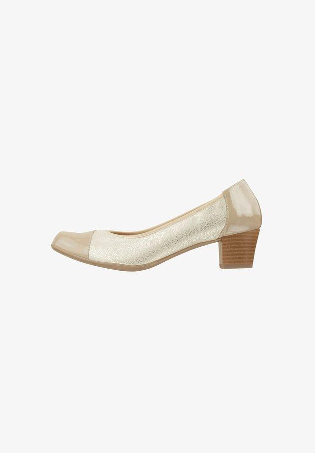 SANTINA - Classic heels - beige