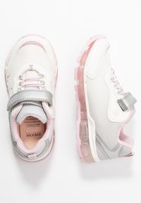 Geox - GIRL - Zapatillas - silver/white - 1