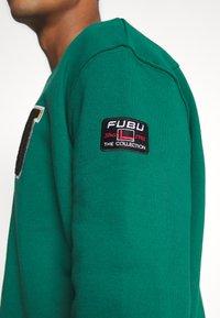 FUBU - COLLEGE - Sweatshirt - green - 5