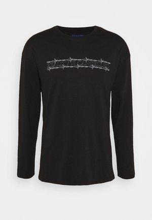 JORCLOSE CREW NECK  - T-shirt à manches longues - black