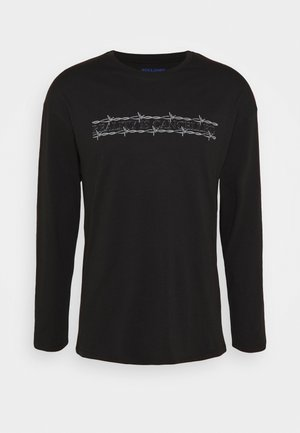 JORCLOSE CREW NECK  - Long sleeved top - black