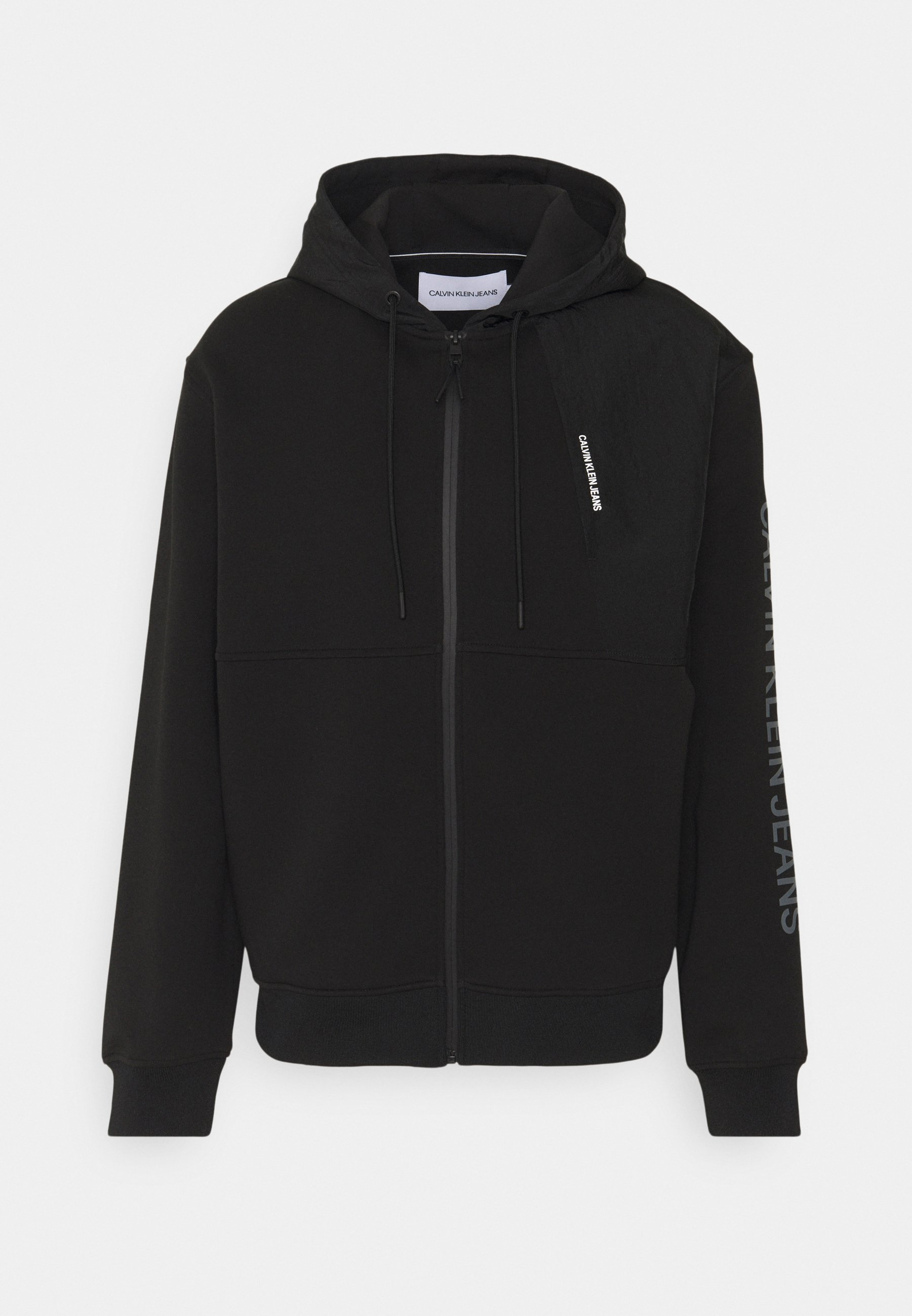 Women BACK GRAPHIC MIXED ZIPTHROUGH UNISEX - Zip-up sweatshirt