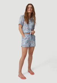 O'Neill - Shorts - blue with pink or purple - 1