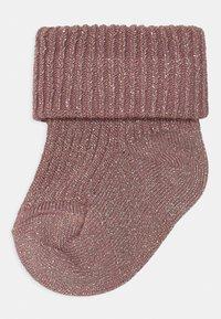MP Denmark - GLITTER 2 PACK - Socks - wishful rose - 1
