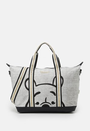 SHOPPER WINNIE THE POOH SHOP TILL YOU DROP - Shoppingveske - grey