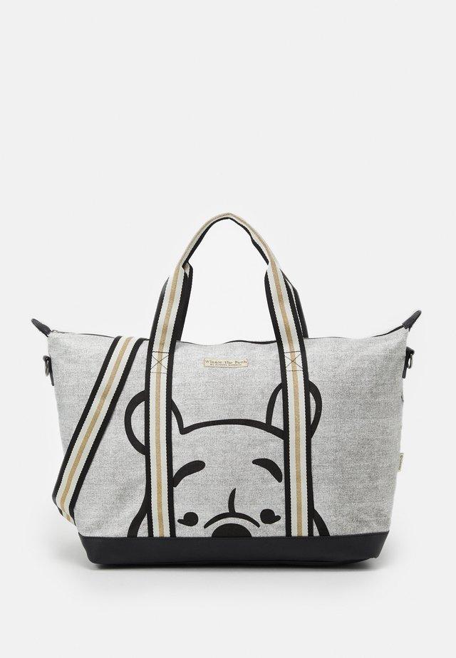 SHOPPER WINNIE THE POOH SHOP TILL YOU DROP - Shopping Bag - grey